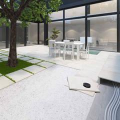 Plaza Yapı Malzemeleri – Bahçe Seramik:  tarz Bahçe