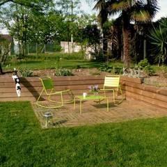 JEUX DE NIVEAUX: Jardin de style  par Constans Paysage, Minimaliste