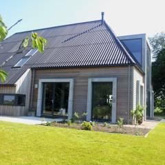 woonboerderij architectuur: mediterrane Huizen door Dick de Jong Interieurarchitekt