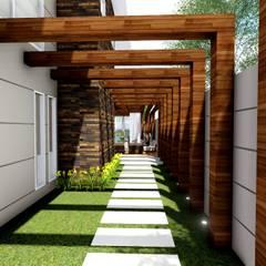 Residência Contemporânea: Jardins  por Studio²
