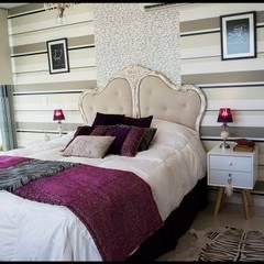 Dormitorio Principal: Dormitorios de estilo  por Diseñadora Lucia Casanova