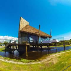 ESPAÇO DE VENDAS SAINT MICHEL: Casas  por LM Arquitetura | Conceito