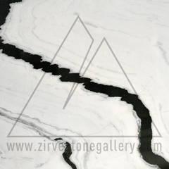 ZİRVE STONE GALLERY – BIANCO LASA MACCHIA VECCHIA : modern tarz , Modern Mermer