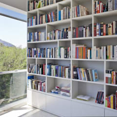 Oficinas de estilo  por Pipa Arquitetura,