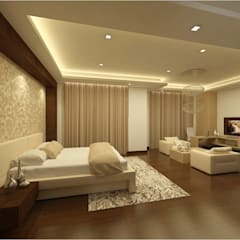 MANTRI ESPANA, BANGALORE. (www.depanache.in): classic Bedroom by De Panache  - Interior Architects