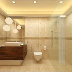 Phòng tắm by De Panache  - Interior Architects