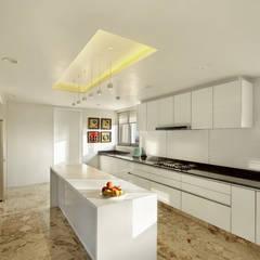 Nikhil patel residence: modern Kitchen by Dipen Gada & Associates