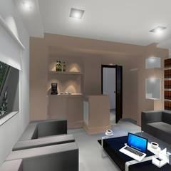 Sala de Reuniones: Estudios y oficinas de estilo clásico por Ignacio Tolosa Arquitectura