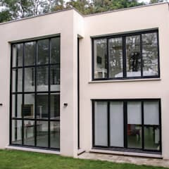 Maison Chennevières-Sur-Marne 2: Maisons de style de style Minimaliste par Daniel architectes
