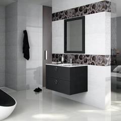 Nero Seta Baños modernos de Lateral3D Moderno