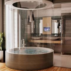 GOLD YAPI DEKORASYON - İÇ MİMARLIK TASARIM VE PROJE – Gold Yapi Banyo:  tarz Banyo