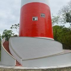 Faro naval en Isla Palma: Museos de estilo  por Constructora Acuario Ltda., Clásico