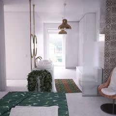 BEDROOMS: Dormitorios de estilo  de ERC