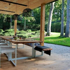 Villa in 't Gooi:  Terras door Designa Interieur & Architectuur BNA