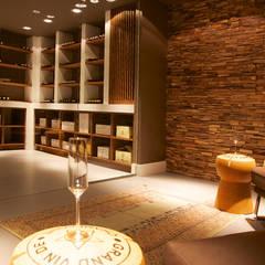 Villa in 't Gooi: moderne Wijnkelder door Designa Interieur & Architectuur BNA