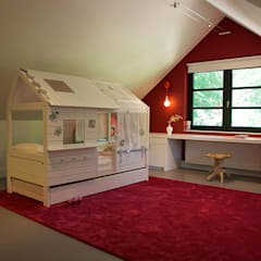 Villa in 't Gooi:  Kinderkamer door Designa Interieur & Architectuur BNA