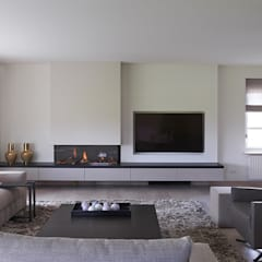 Living room by Designa Interieur & Architectuur BNA