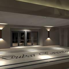 Salas de eventos de estilo  por AFG Arquitetura e Interiores