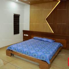 ห้องนอน โดย Space - interior Ideas, โมเดิร์น