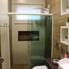 rustic Bathroom by Arquiteta Bianca Monteiro