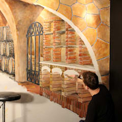 Wine cellar by fialkowske design