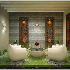 Contemporary Interior Design:  Terrace by Premdas Krishna