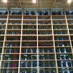 MODULO COFIDE COP20: Centros de exhibición de estilo  por NIKOLAS BRICEÑO arquitecto