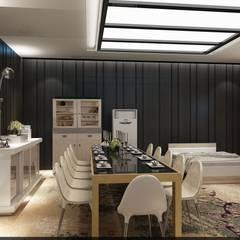 RicH İçmimarlık – qassar al saraya mobilya showroom tasarımı:  tarz Ofisler ve Mağazalar