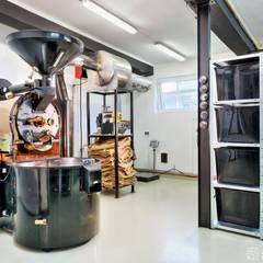 palarnia kawy: styl , w kategorii Gastronomia zaprojektowany przez ALEKSANDRA interior design studio