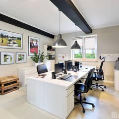 biuro: styl , w kategorii Gastronomia zaprojektowany przez ALEKSANDRA interior design studio