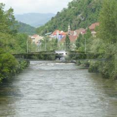 Ansicht Spiegelbrücke:  Veranstaltungsorte von pfeiffer sachse architekten