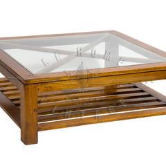 Столик Wisconsin Coffee Table T038:  в . Автор – LeHome Interiors, Лофт Дерево Эффект древесины