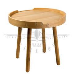 Стол Olivia T116:  в . Автор – LeHome Interiors, Лофт Дерево Эффект древесины