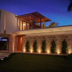 Casa Green Hills: Casas  por ARC+ Arquitetura