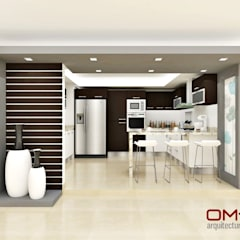Nhà bếp by om-a arquitectura y diseño
