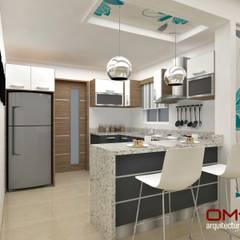 آشپزخانه by om-a arquitectura y diseño
