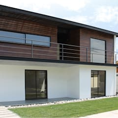 Casa Limonares, Melipilla, RM, Chile: Casas de estilo  por Landeros & Charles Architects,Moderno