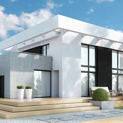 Projekt domu HomeKONCEPT-34: styl , w kategorii Domy zaprojektowany przez HomeKONCEPT | Projekty Domów Nowoczesnych