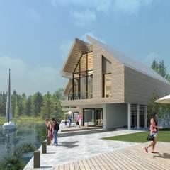 Naust Haus - Passivhaus design:  Houses by Artform Architects