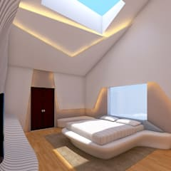 SG House Modern style bedroom by RnG Architects Modern