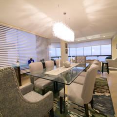 Departamento Malecon Miraflores: Comedores de estilo  por Oneto/Sousa Arquitectura Interior