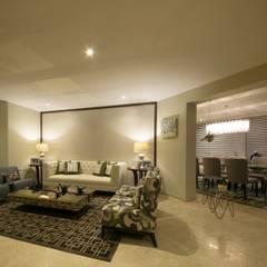Departamento Malecon Miraflores de Oneto/Sousa Arquitectura Interior Ecléctico