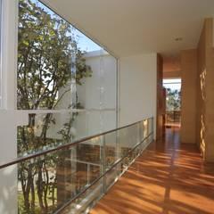 Pasillos y vestíbulos de estilo  de Echauri Morales Arquitectos,