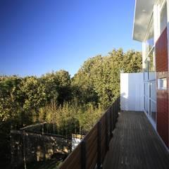 Terrazas de estilo  de Echauri Morales Arquitectos,