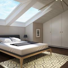 yücel partners – M&E TEKİNTAŞ HOME: iskandinav tarz tarz Yatak Odası