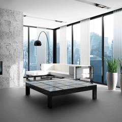 Rough Beton: Paredes de estilo  por PANESPOL, Surface Lovers