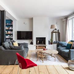 renovation d une maison de ville a boulogne billancout salon de style par olivier