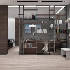 Квартира для холостяка в минималистическом стиле: Коридор и прихожая в . Автор – Tatiana Zaitseva Design Studio
