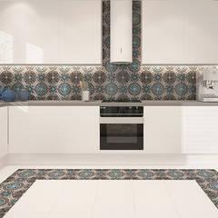 KOLORY MAROKA: styl , w kategorii Kuchnia zaprojektowany przez Ludwinowska Studio Architektury