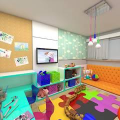 غرفة الاطفال تنفيذ Plano A Studio, إنتقائي
